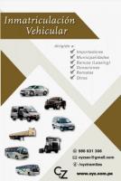 TRÁMITES VARIOS VEHÍCULOS Y DE INMUEBLES